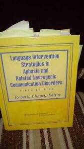 speech pathology textbook