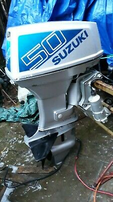 SUZUKI DT50 HP OUTBOARD WITH ELECTRIC TRIM/TILT