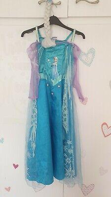 ElSA Frozen 9-10 years dressing up beautiful dress and - Elsa Dressing Up Kostüm