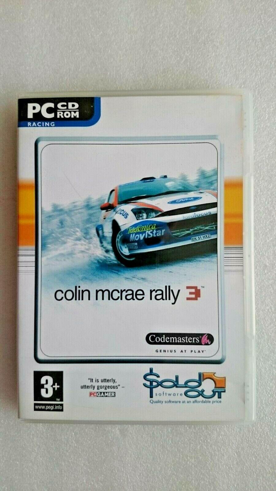 Colin McRae Rally 3 (PC Windows 2003)