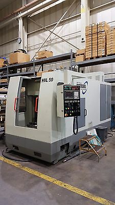 Dmtg Hvl 50 Horizontal Milling Machine With Fanuc 0i Cnc Hvl50