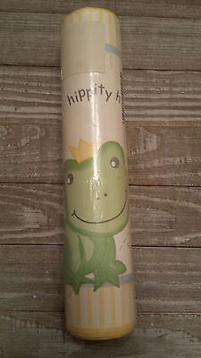 Tales Border - Lambs & ivy froggy tales frog duck nursery prepasted wall border roll new