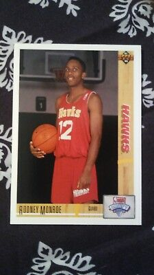 Monroe Deck (Rodney Monroe Upper Deck NBA Draft Card)