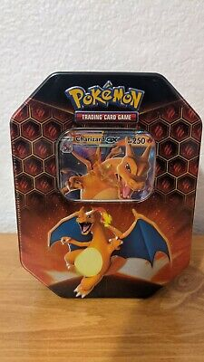Pokemon HIDDEN FATES Factory Sealed Charizard-GX Tin (IN HAND) Fast Shipping!