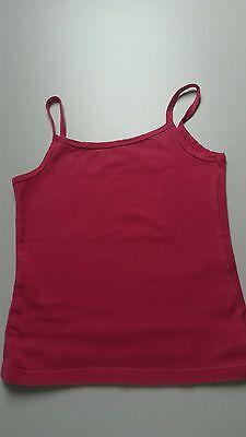 Gebraucht, Pinkes alive  TOP * Gr. 128 *  schmale Träger * unifarben gebraucht kaufen  Bornheim