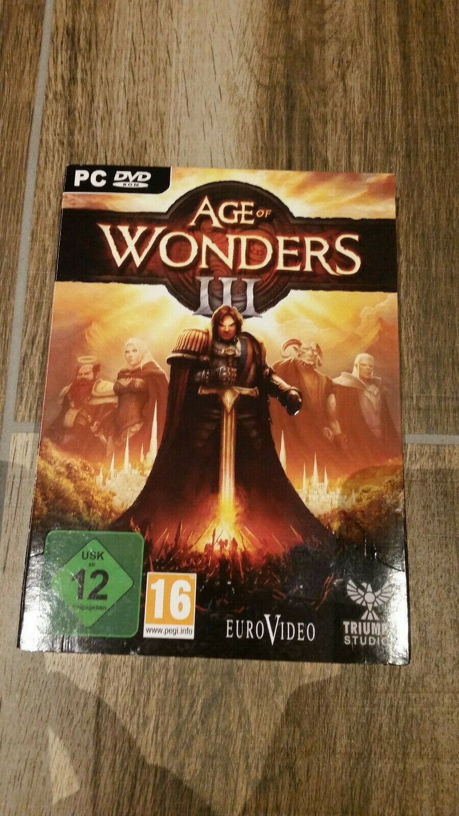 PC DVD Age of Wonders 3 III - Fantasy + Strategie-Rollenspiel - NEU & OVP