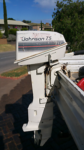 7.5 hp jonson outboard Para Hills Salisbury Area Preview