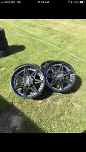 """18"""" Chevy 170x8 rims and lug nuts for sale"""