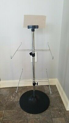 Counter Retail Product Display Tree - 2 Tier 8 Peg 28 Tall