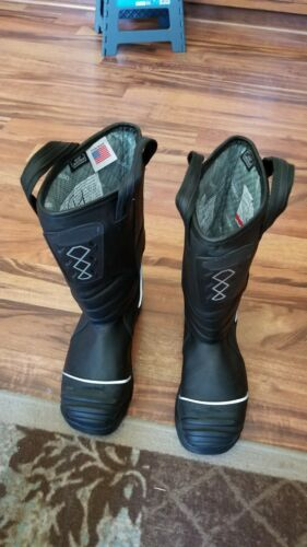 Leather Firefighter boots NightHawk 5555