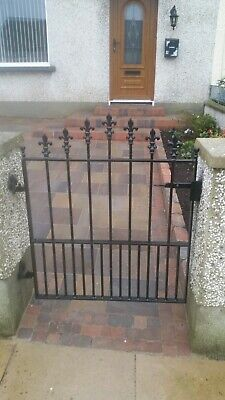 Hand crafted Single Wrought Iron Gate