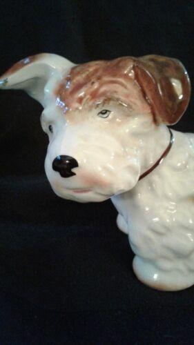 Vintage English SylvaC Terrier Dog Figurine Excellent