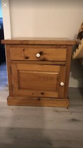 Great Condition Hardwood Night Stand or End Table
