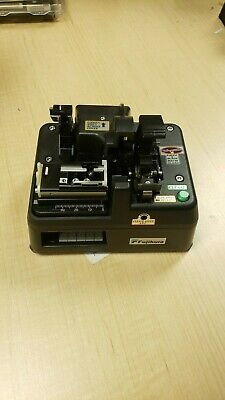 Fujikura Ct-100 High Precision Fiber Optic Cleaver Powered