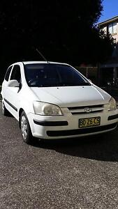 2005 Hyundai Getz Hatchback manual Fairy Meadow Wollongong Area Preview