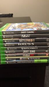 Various Xbox one games