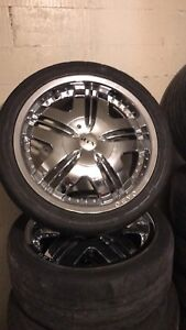18' Chrome wheels !! Best offer takes them!
