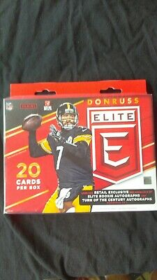 2016 Donruss Elite Football Hanger Box 1 autograph/ memorabilia 3 green -