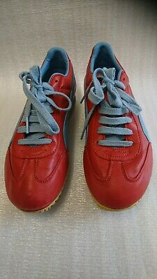 Details about Puma Tahara Casual Sneakers, #400125 03, RedLavender, Leather, Men's US Size 6