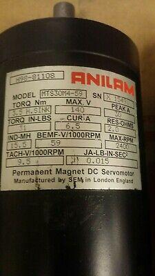 Anilam Mts30m4-59 Cnc Servomotor