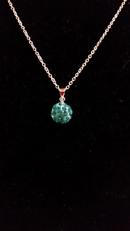 Crystal Orb Necklace.