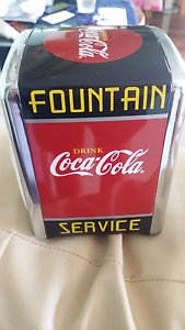 Coca-Cola napkin holder Riverview Lane Cove Area Preview