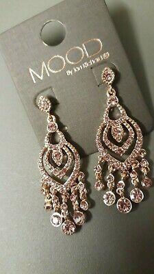 MOOD by Jon Richard Rose Gold Coloured Indian/Boho Style Earrings