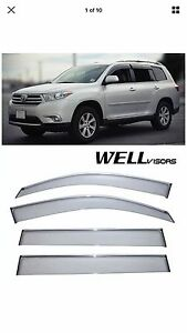 Well Visors Premium Window Visor