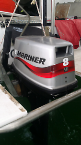 8hp mid long shaft 2 stroke outboard