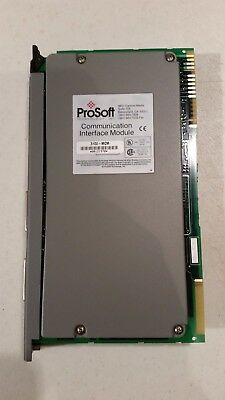 Prosoft 3100-mcm Communication Interface Module Allen Bradley Plc