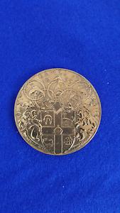 1956 Melbourne Olympics Offical Participants Medal Kallangur Pine Rivers Area Preview