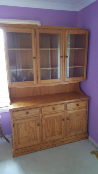 Wall Unit Display Cabinet | Cabinets | Gumtree Australia Geelong ...