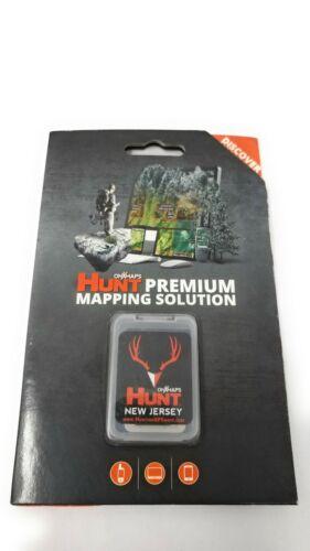 onXmaps HUNT GPS Chip for Garmin Units + 1-Year Premium Membership, New Jersey