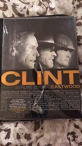 Clint Eastwood boxed DVD set.  35 Films 35 Years.