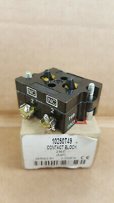 EATON CUTLER HAMMER 1 N.C CONTACT BLOCK 10250T51 SERIES D2 10250T//91000T