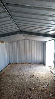 Large shed 6m x 3m 3yrs old. Dismantled ready.to go
