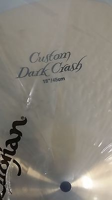 """Zildjian K Custom Dark Crash 18"""" K0953  best offer me lowest price in US, used for sale  Shipping to India"""