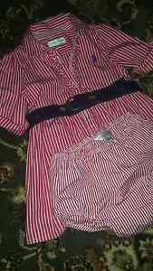 Ralph lauren Pink stripe shirt dress Newtown Inner Sydney Preview