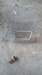 Rabbit cage -all metal