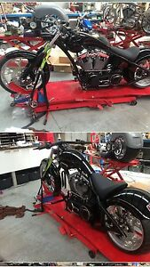 Harley. Custom pro street chopper ,swap vrod Clifton Springs Outer Geelong Preview