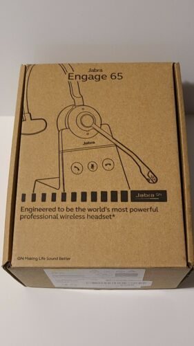 Jabra ENGAGE 65 Black Over the Ear Wireless Headsets