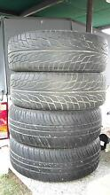 set of 4 tyres Thornton Maitland Area Preview