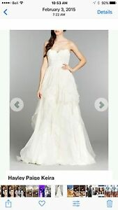 Hayley Paige Kira size 10 (Couture wedding gown)