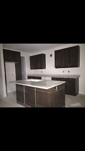 Kitchen countertop , island countertop , sink & faucets
