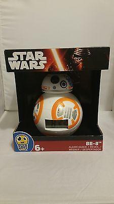 Star Wars Bulb Botz Bb 8 Digital Alarm Clock New In Original Box  Unopened