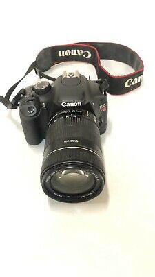Canon Eos Rebel T2i DSLR Camera W/ Zoom Len EF-S 18-135mm 1:3.5-5.6 I (Ds126271)