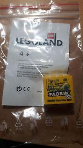 Lego Fabrikstein- Legoland Günzburg 2016  Neu
