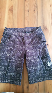Fox padded bike shorts - women size M