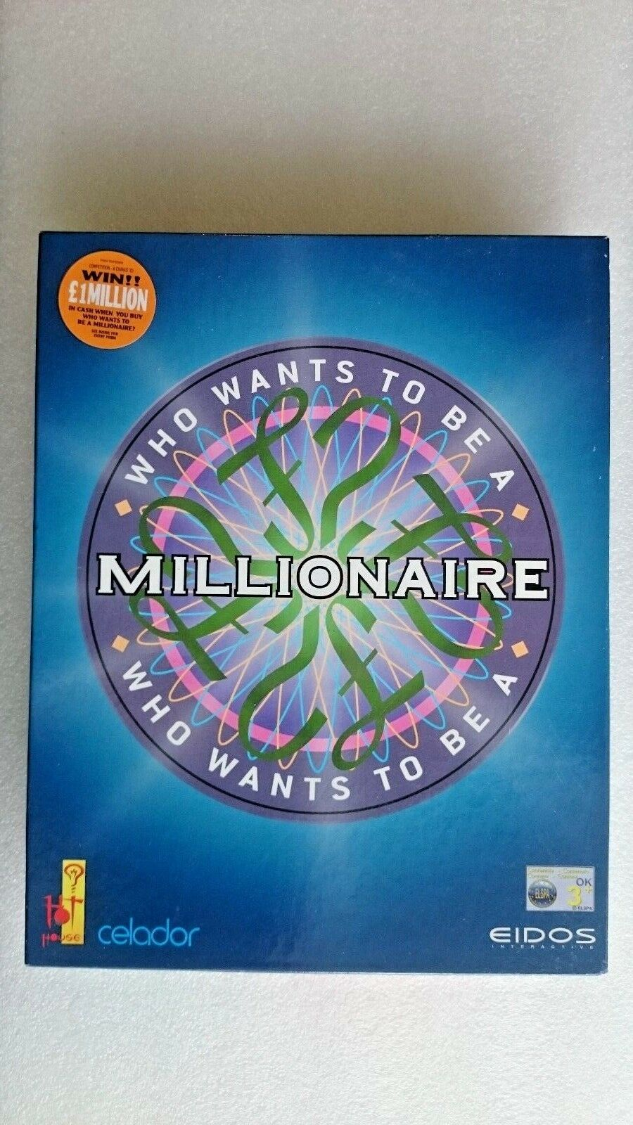 Who Wants to be a Millionaire (PC: Windows, 2000) - Big Box Edition