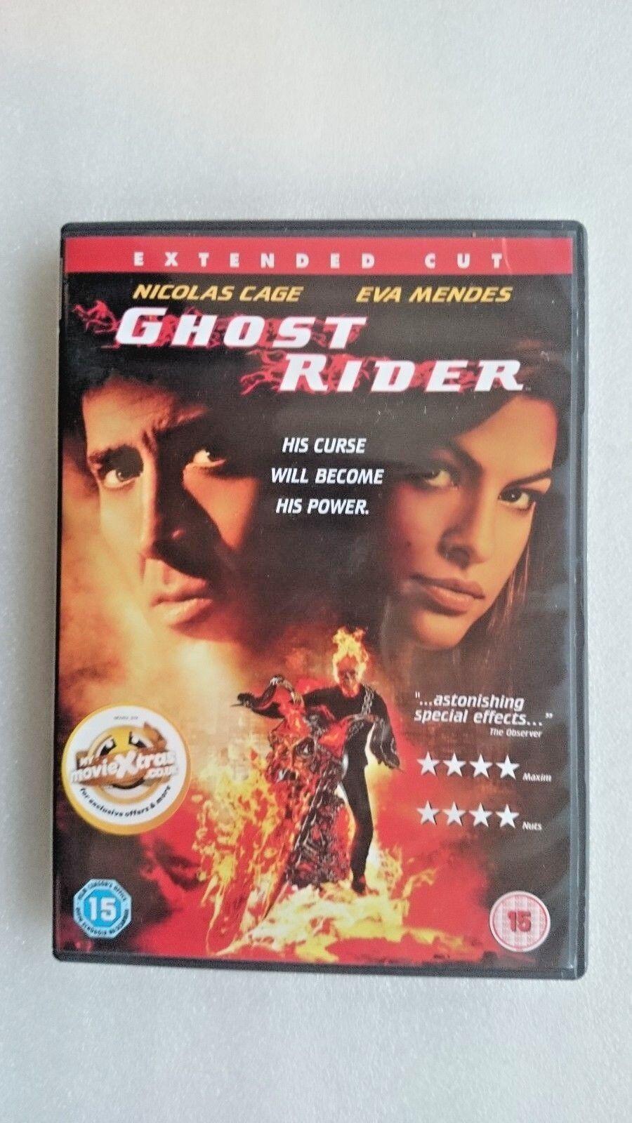 Ghost Rider (DVD, 2007)